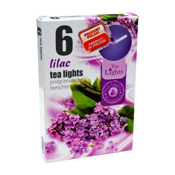 Hộp 6 nến thơm Tea lights Admit Lilac ADM1423 (Hoa tử đinh hương)