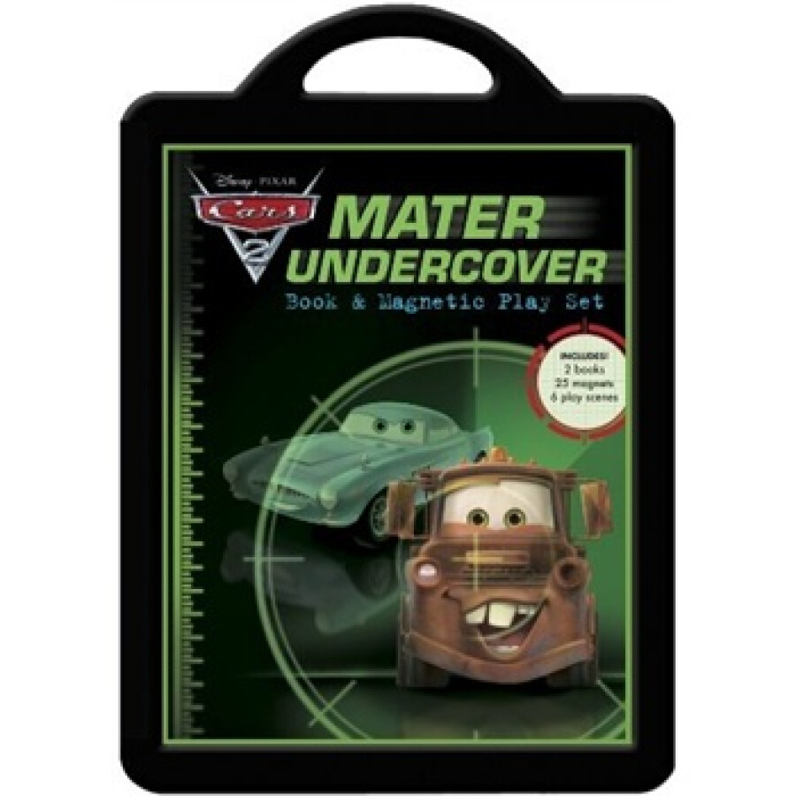 Mater Undercover: Book and Magnetic Play Set