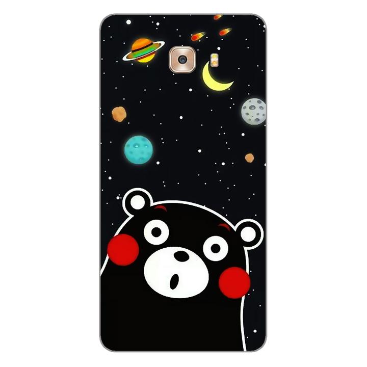 Ốp lưng dẻo Nettacase cho điện thoại Samsung Galaxy C9 _0345 BEAR03 - Hàng Chính Hãng