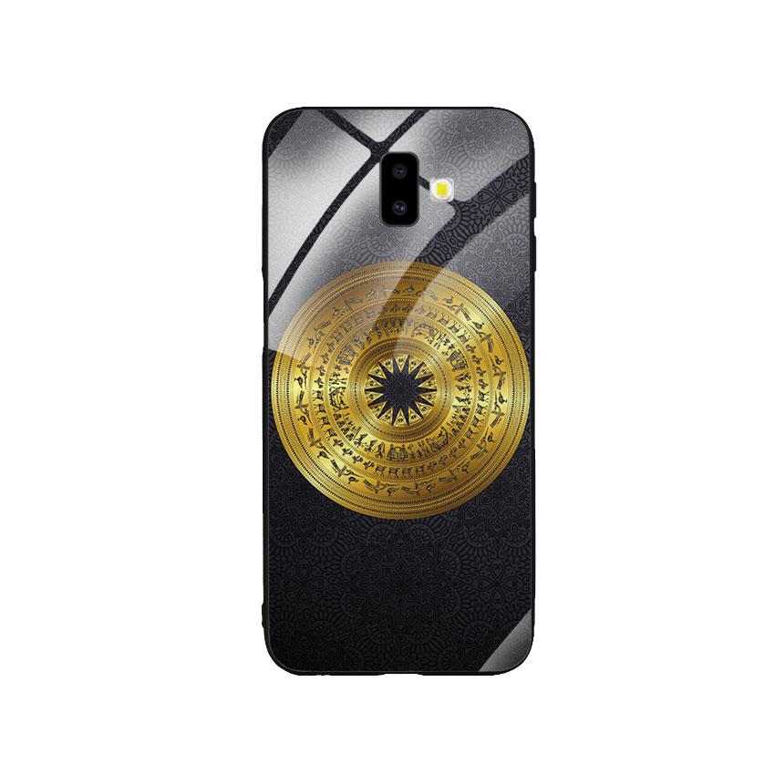 Ốp Lưng Kính Cường Lực cho điện thoại Samsung Galaxy J6 Plus - Trống Đồng 05