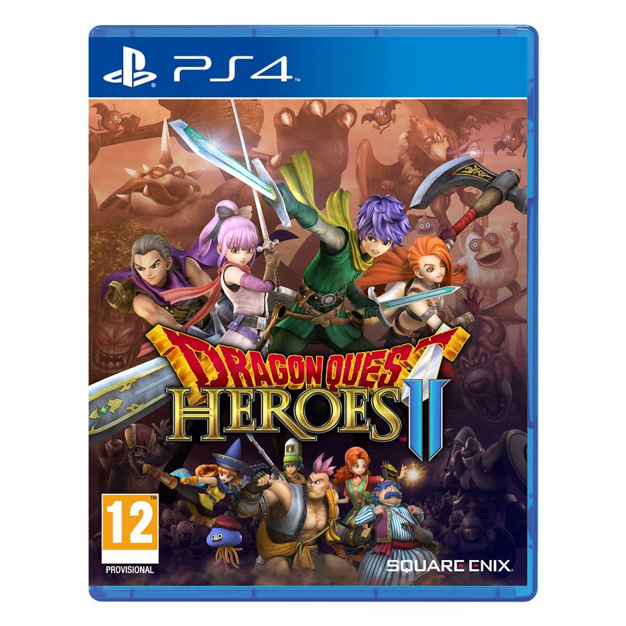 Đĩa Game PlayStation PS4 Sony Dragon Quest Heroes II Hệ Asia - Hàng chính hãng