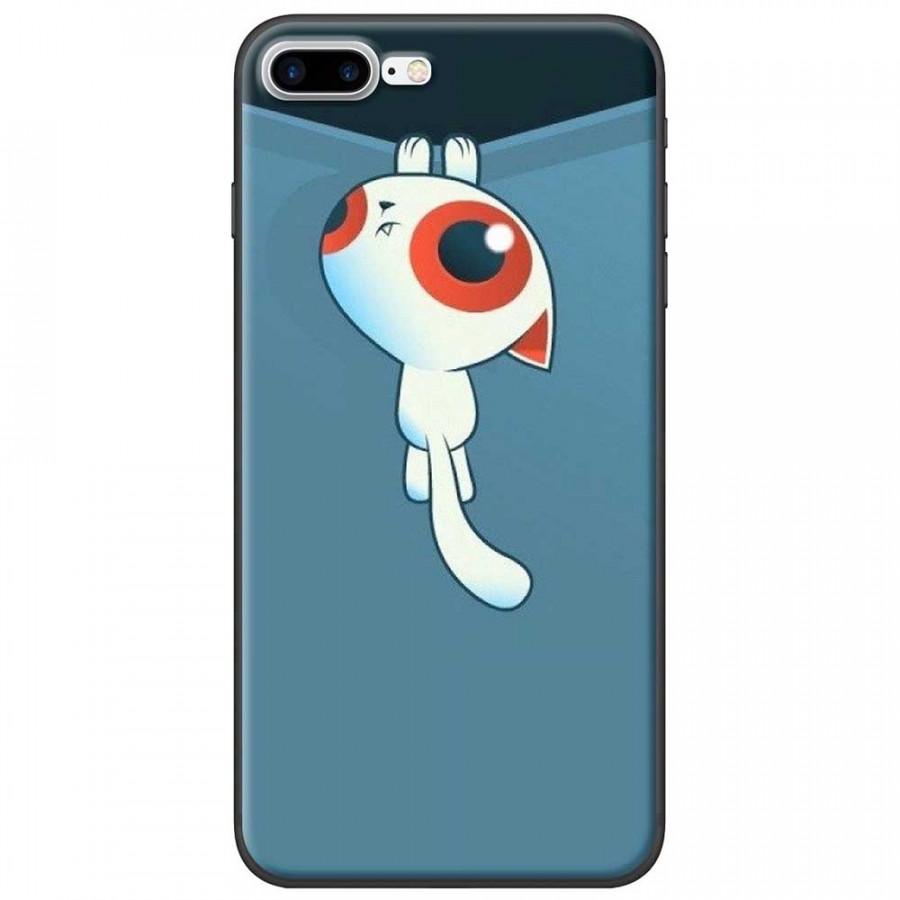 Ốp lưng dành cho iPhone 7 Plus mẫu Mèo kéo rèm
