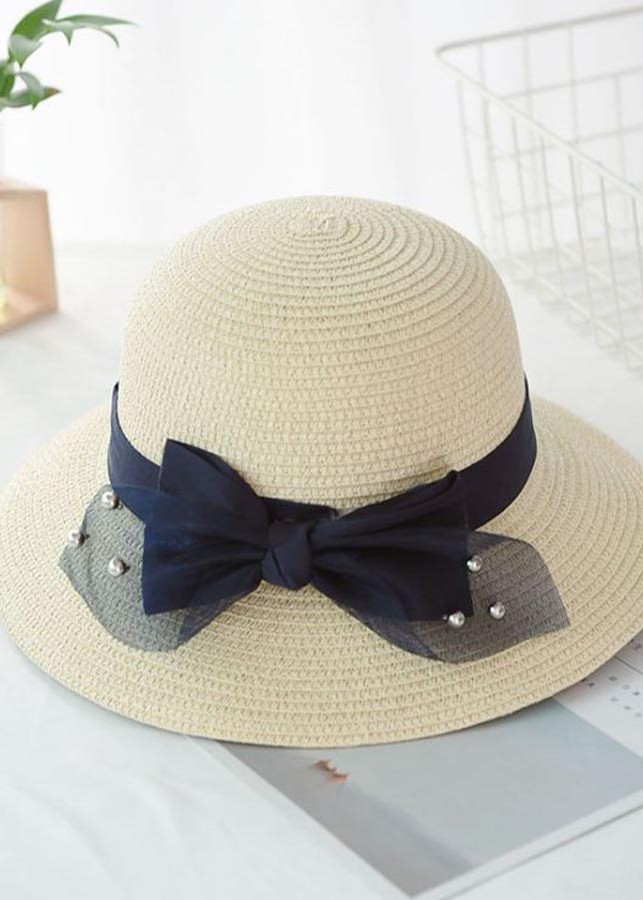 Nón đi biển nữ mùa hè gắn nơ vải, ngọc trai HQC4124 - 5141938 , 4939867706267 , 62_16601571 , 109000 , Non-di-bien-nu-mua-he-gan-no-vai-ngoc-trai-HQC4124-62_16601571 , tiki.vn , Nón đi biển nữ mùa hè gắn nơ vải, ngọc trai HQC4124