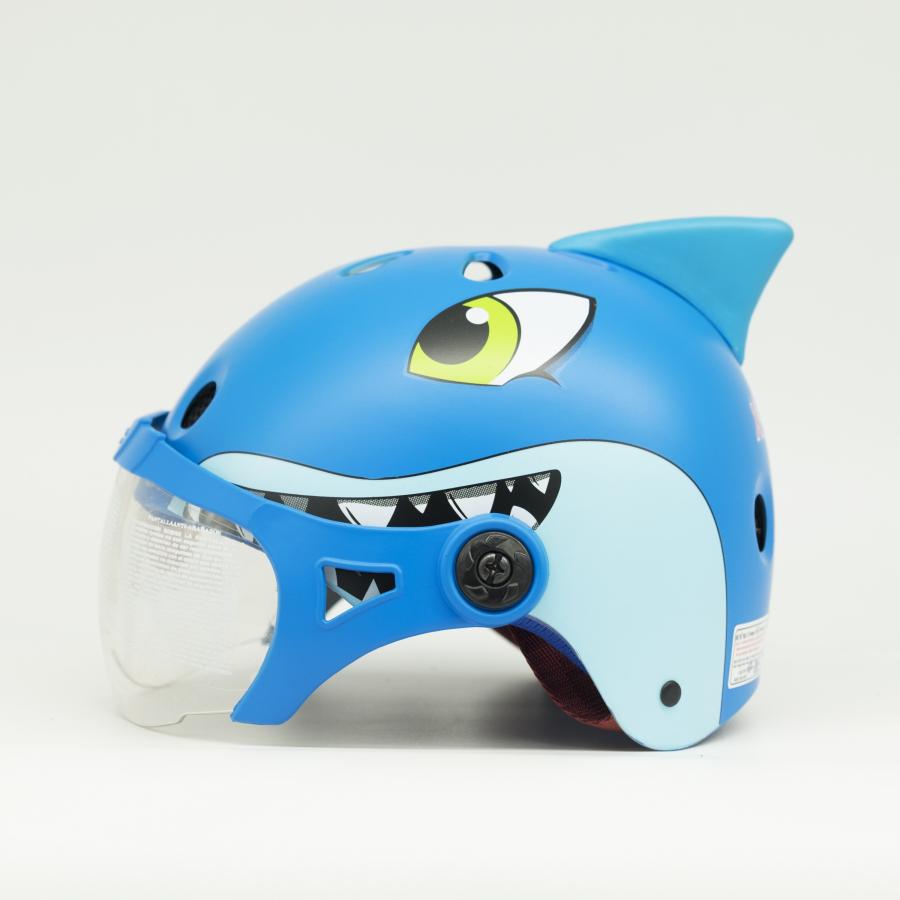 Mũ Bảo Hiểm Thể Thao Trẻ Em XPRO120 Hình Cá Mập