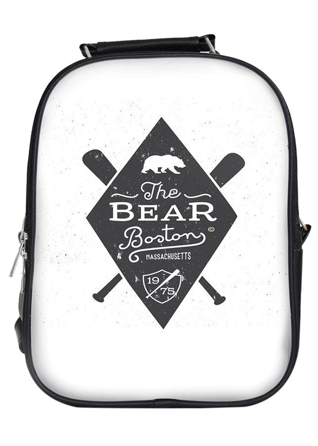Balo Unisex In Hình The Bear Boston - BLTE106