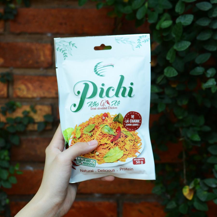 Combo 5 gói khô gà xé vị lá chanh đặc biệt 50g Pichi - 1776963 , 3718713148977 , 62_12727309 , 99000 , Combo-5-goi-kho-ga-xe-vi-la-chanh-dac-biet-50g-Pichi-62_12727309 , tiki.vn , Combo 5 gói khô gà xé vị lá chanh đặc biệt 50g Pichi