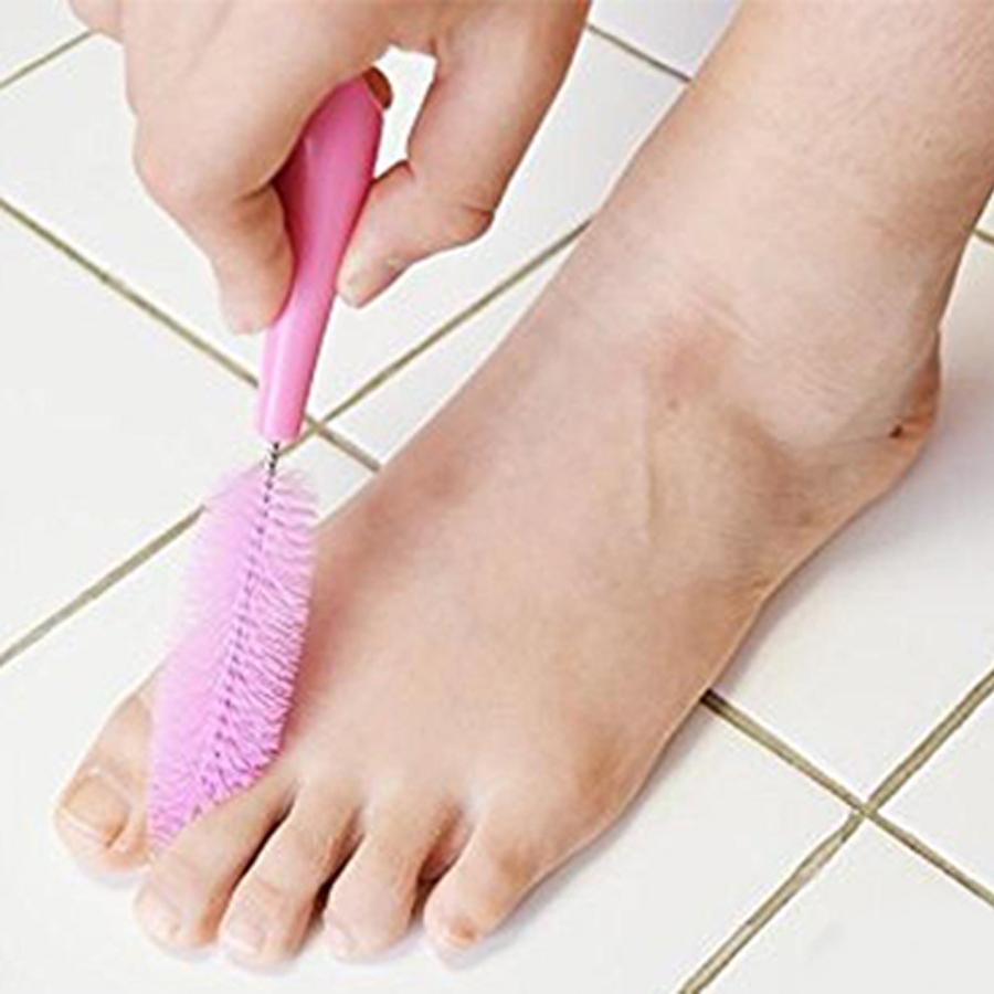 Cây vệ sinh chân cao cấp ( màu hồng ) - Hàng Nội Địa Nhật