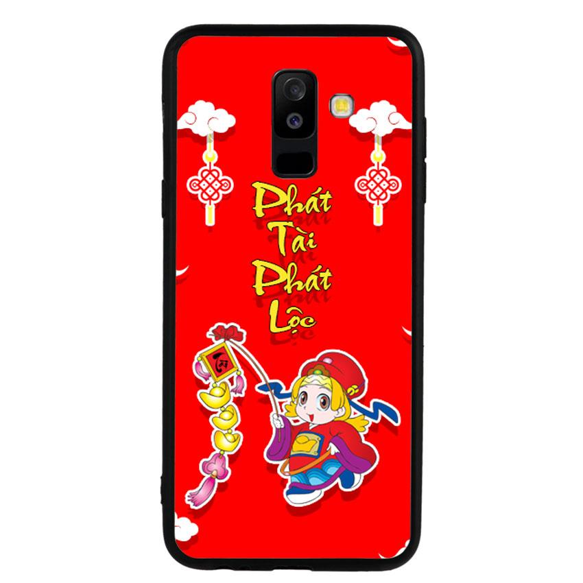 Ốp Lưng Viền TPU cho điện thoại Samsung Galaxy A6 Plus 2018 -Thần Tài 03