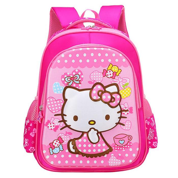 Balo Học Sinh Hình Hello Kitty Trường Thịnh (40 x 32 cm)