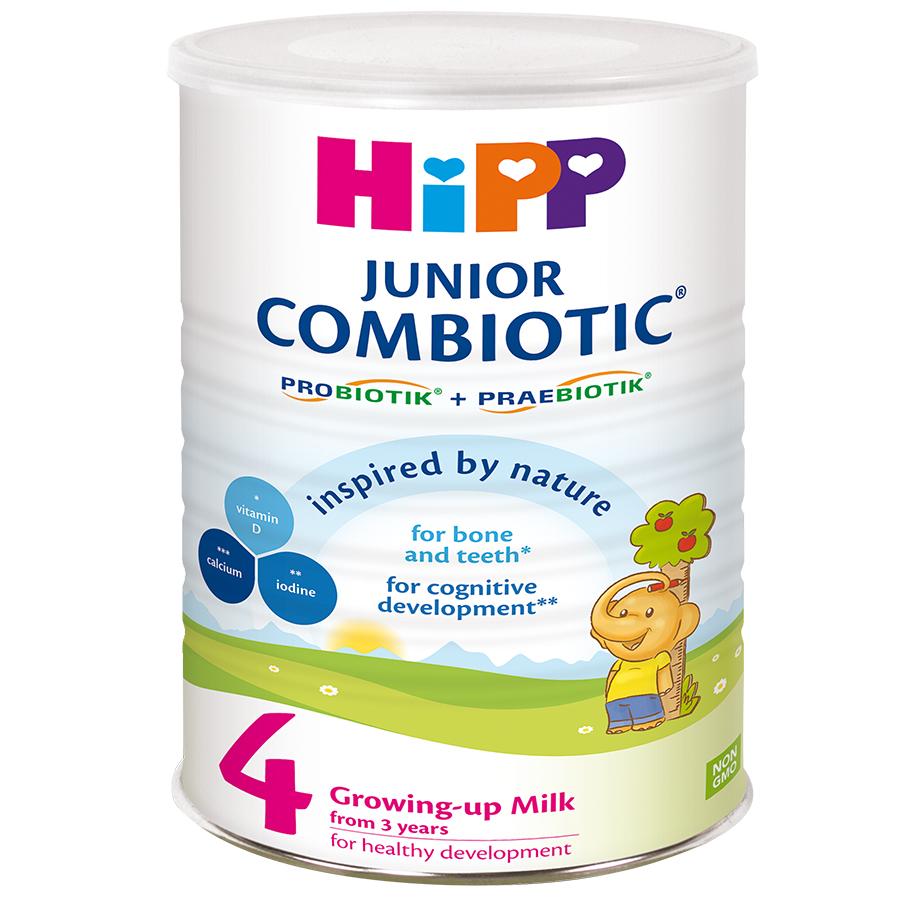Sữa Công Thức HiPP 4 Junior Combiotic (800g) - 5285144 , 7344948785234 , 62_1363165 , 540000 , Sua-Cong-Thuc-HiPP-4-Junior-Combiotic-800g-62_1363165 , tiki.vn , Sữa Công Thức HiPP 4 Junior Combiotic (800g)