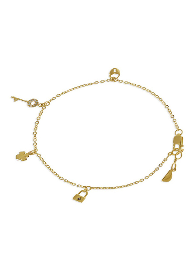 Lắc Tay Nữ Vàng 14K - LLF06 Huy Thanh Jewelry - 0,469 chỉ