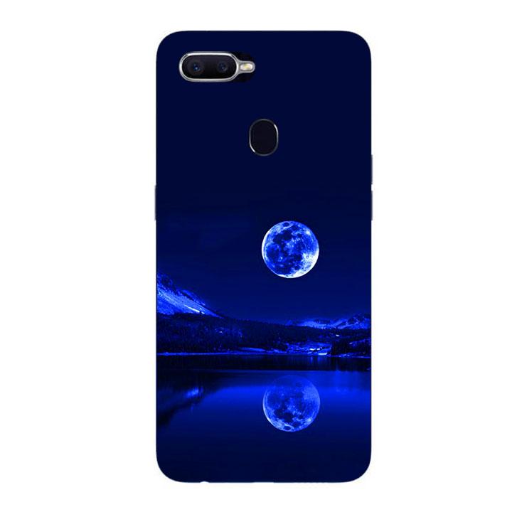 Ốp Lưng Dẻo Cho Điện thoại Oppo F9 - Moon 02