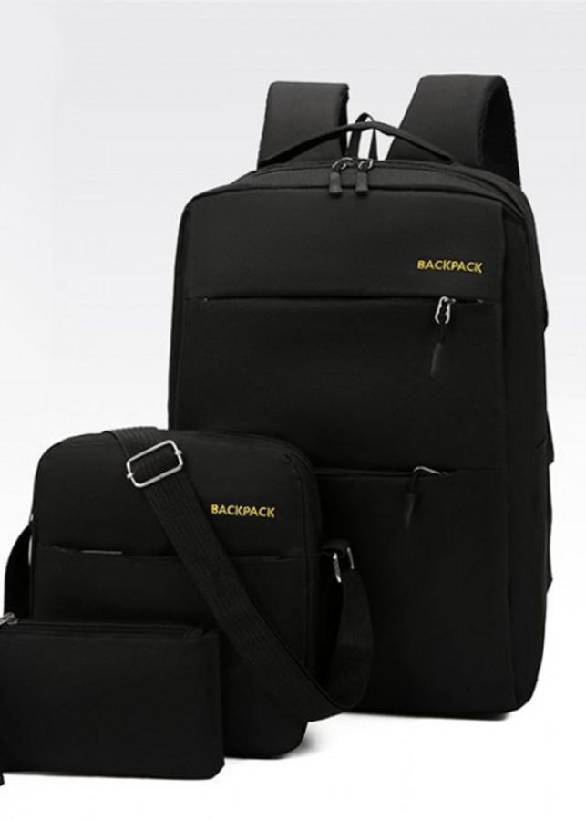 Combo 3 trong 1 Balo Laptop thời trang cao cấp chống thấm nước BackPack (Ba lô lớn+ 1 túi trung + 1 túi nhỏ) - 853561 , 5050427755415 , 62_14120471 , 280000 , Combo-3-trong-1-Balo-Laptop-thoi-trang-cao-cap-chong-tham-nuoc-BackPack-Ba-lo-lon-1-tui-trung-1-tui-nho-62_14120471 , tiki.vn , Combo 3 trong 1 Balo Laptop thời trang cao cấp chống thấm nước BackPack (B