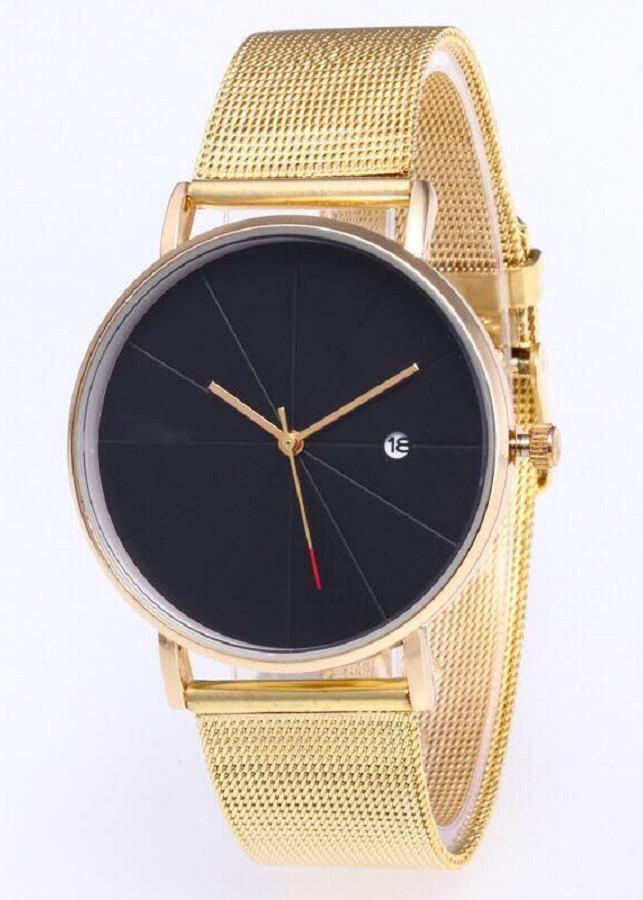 Đồng hồ dây kim loại chống rỉ chống bay màu