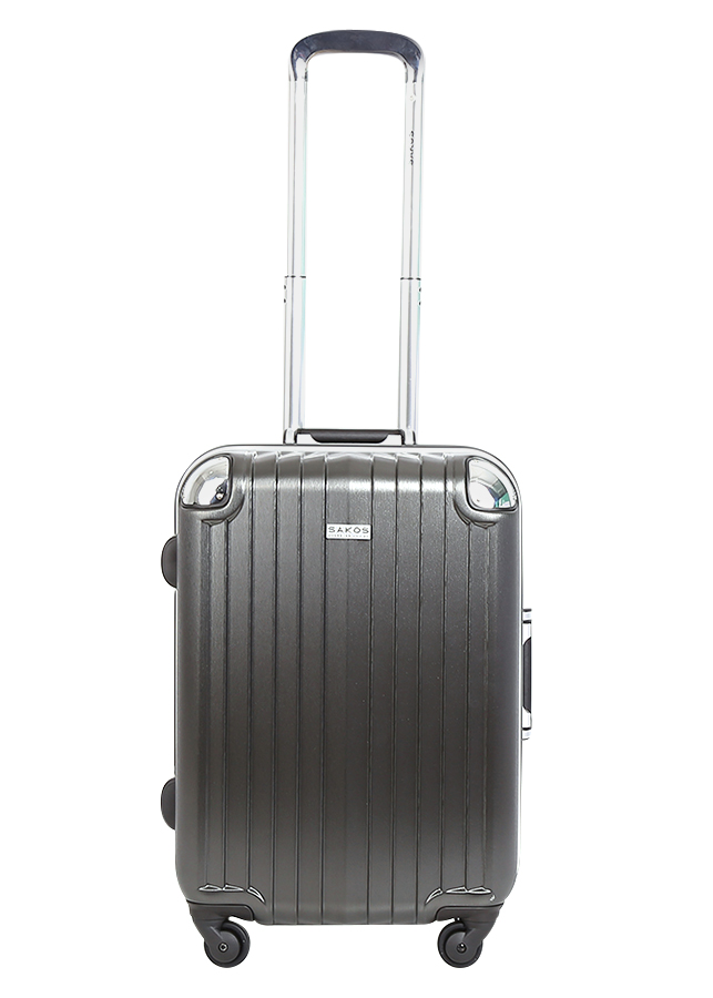 Vali Nhựa Sakos SAPPHIRE - A22 NLXP02BKASI7 (56 x 36 cm) - Xám Đậm