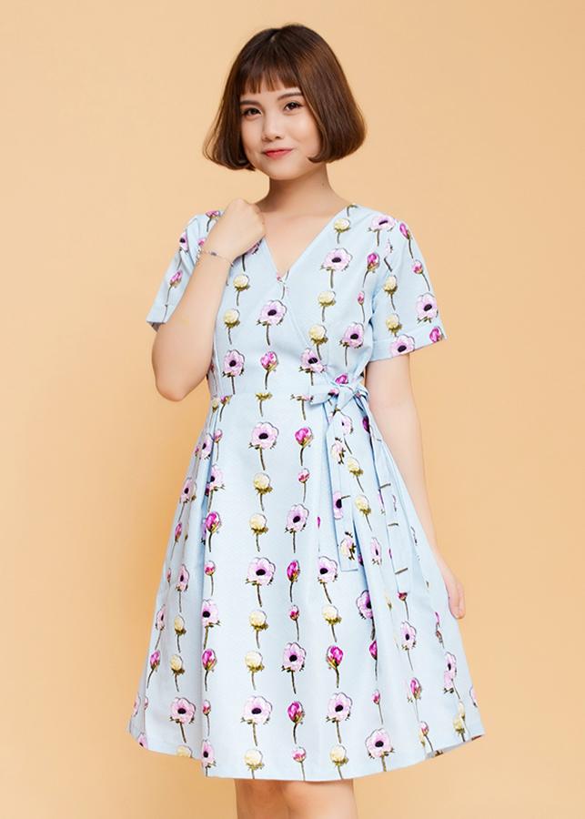 Đầm Họa Tiết Maxi Nữ