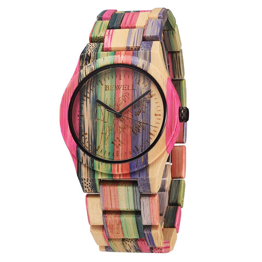 BEWELL Hypoallergenic Environmental Friendly Wooden Bamboo Watch Immaculate Classy Quartz Analog Unisex Wristwatch - 2168759 , 1752382756936 , 62_13892706 , 887000 , BEWELL-Hypoallergenic-Environmental-Friendly-Wooden-Bamboo-Watch-Immaculate-Classy-Quartz-Analog-Unisex-Wristwatch-62_13892706 , tiki.vn , BEWELL Hypoallergenic Environmental Friendly Wooden Bamboo Wat