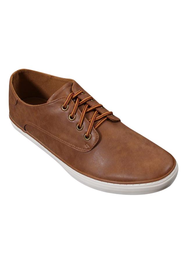 Giày Sneaker Nam Cox Shoes - Vàng Bò