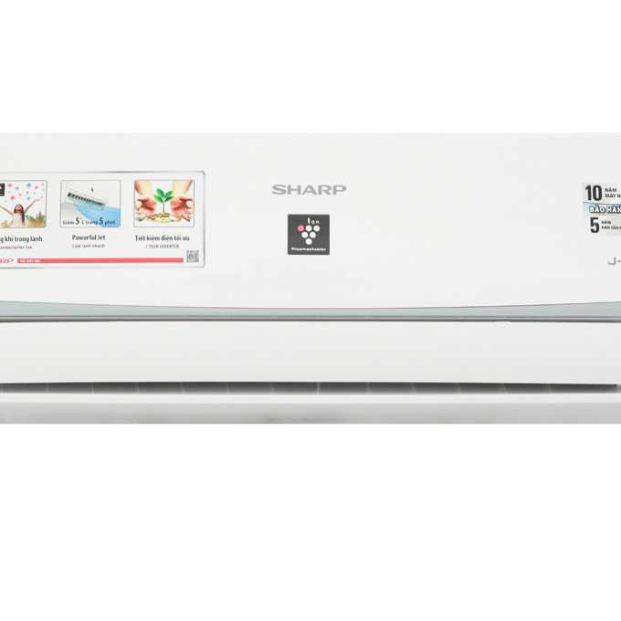 Máy lạnh Sharp Inverter 1.5 HP AH-XP13WMW Mẫu 2019 - 1287911 , 5085577616538 , 62_13296586 , 10690000 , May-lanh-Sharp-Inverter-1.5-HP-AH-XP13WMW-Mau-2019-62_13296586 , tiki.vn , Máy lạnh Sharp Inverter 1.5 HP AH-XP13WMW Mẫu 2019