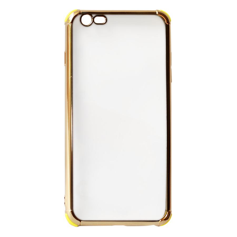 Ốp Lưng Dành Cho iPhone 6 Plus / 6s Plus Viền Màu Chống Sốc KST