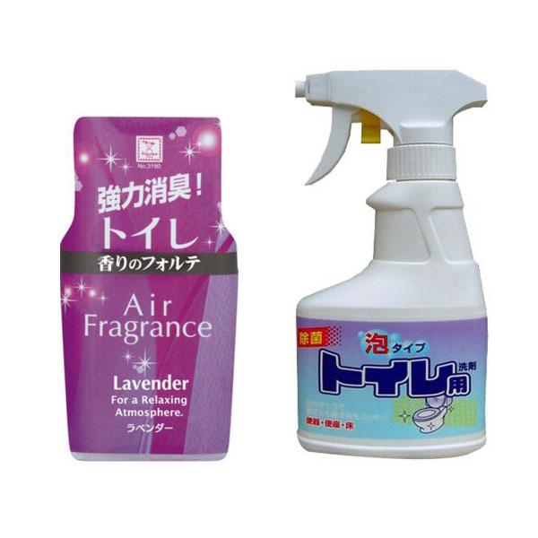 Combo hộp khử mùi toilet hương lavender + chai xịt vệ sinh bồn cầu 300ml Rocket nội địa Nhật Bản - 1127552 ,  , 62_13630095 , 132000 , Combo-hop-khu-mui-toilet-huong-lavender-chai-xit-ve-sinh-bon-cau-300ml-Rocket-noi-dia-Nhat-Ban-62_13630095 , tiki.vn , Combo hộp khử mùi toilet hương lavender + chai xịt vệ sinh bồn cầu 300ml Rocket nội địa Nhật Bả