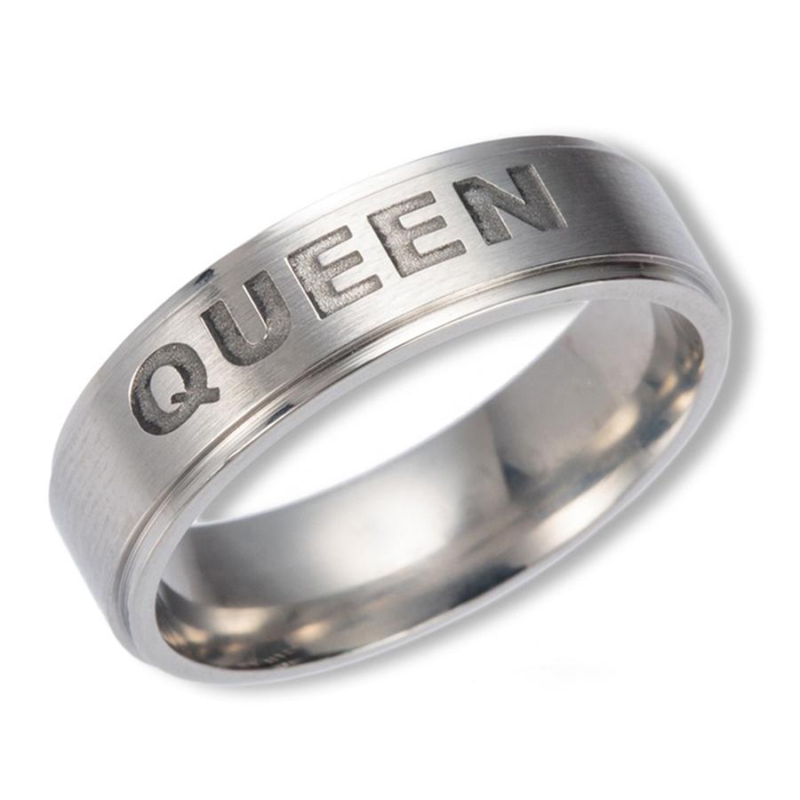 Nhẫn Inox Queen - 4712537 , 9949982474984 , 62_12308891 , 242000 , Nhan-Inox-Queen-62_12308891 , tiki.vn , Nhẫn Inox Queen