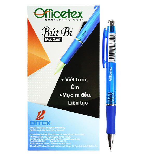 Hộp 24 Bút Bi OFFICETEX OT-BP010 (14.6 x 10 x 3.6 cm) - 1904112 , 3469330160490 , 62_10242666 , 126000 , Hop-24-But-Bi-OFFICETEX-OT-BP010-14.6-x-10-x-3.6-cm-62_10242666 , tiki.vn , Hộp 24 Bút Bi OFFICETEX OT-BP010 (14.6 x 10 x 3.6 cm)