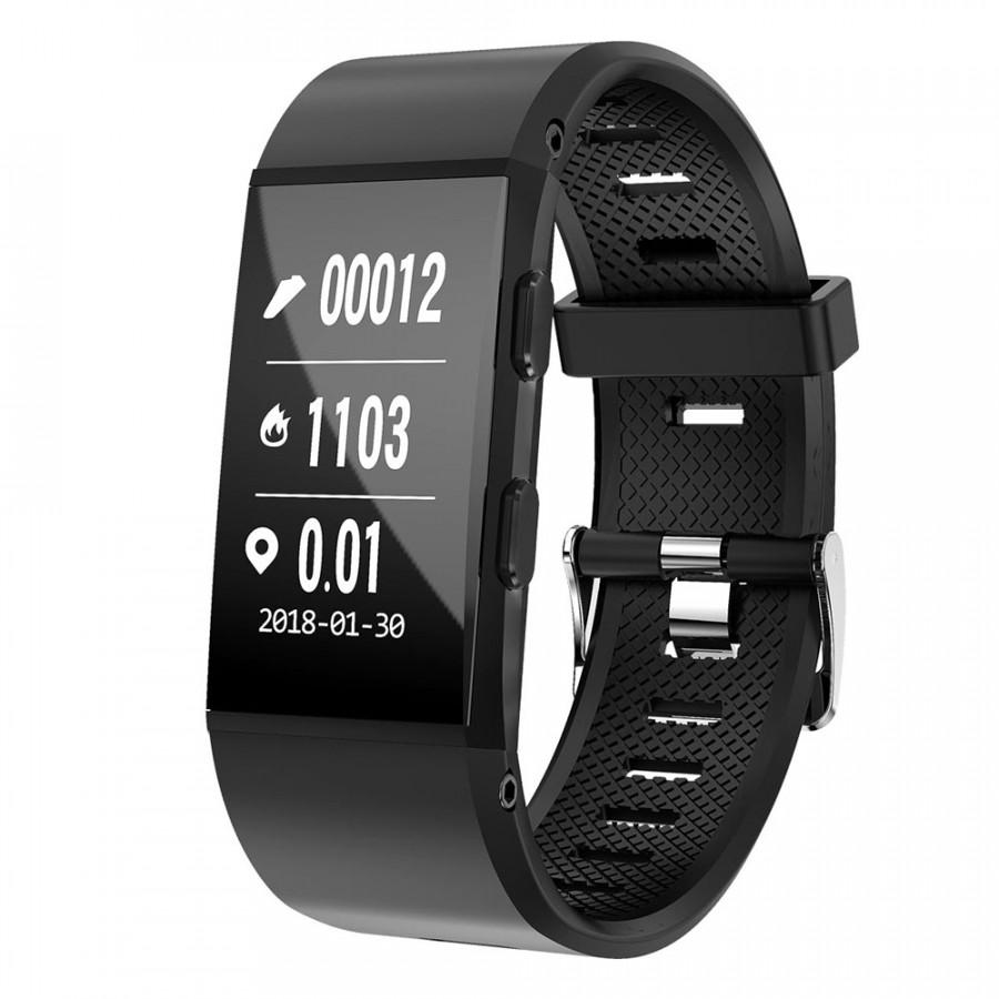 S1 Smart Bracelet 0.96 Inch Screen BT4.1 Gps Heart Rate Monitoring Fitness Alarm Ip67 Waterproof Fashion Multi-Sports