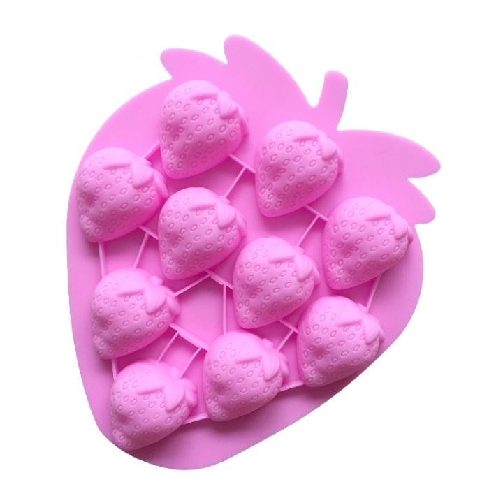 Khuôn silicon làm thạch rau câu, socola 10 trái dâu tây - 7324115 , 1866843049496 , 62_15089437 , 89000 , Khuon-silicon-lam-thach-rau-cau-socola-10-trai-dau-tay-62_15089437 , tiki.vn , Khuôn silicon làm thạch rau câu, socola 10 trái dâu tây