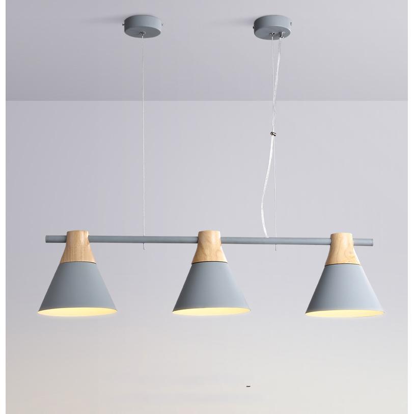 Đèn Thả Hình Nón Ba Chao - DT00091/3 | Tặng kèm bóng