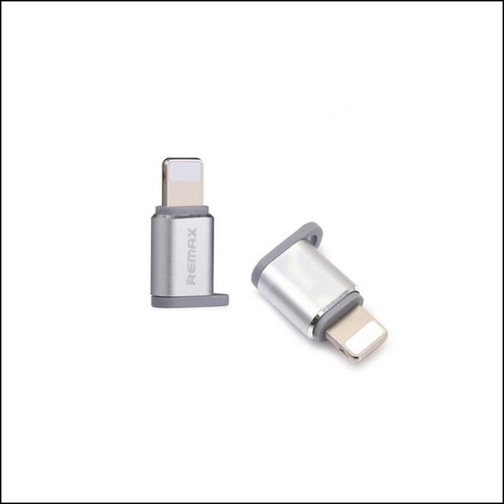 Đầu chuyển từ MicroUsb sang Lighning Remax RA-USB2 - Hàng nhập khẩu - 1974270 , 4321126958294 , 62_15279934 , 79000 , Dau-chuyen-tu-MicroUsb-sang-Lighning-Remax-RA-USB2-Hang-nhap-khau-62_15279934 , tiki.vn , Đầu chuyển từ MicroUsb sang Lighning Remax RA-USB2 - Hàng nhập khẩu