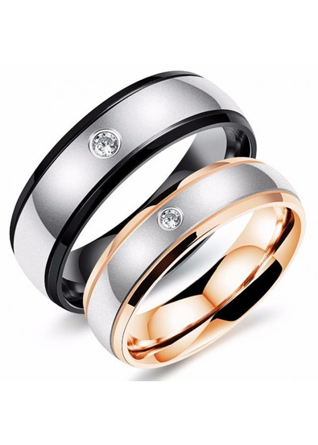 Nhẫn cặp inox NC173 bản nhẫn nam bằng nữ 3.5mm - 890687 , 2677122008337 , 62_4301437 , 200000 , Nhan-cap-inox-NC173-ban-nhan-nam-bang-nu-3.5mm-62_4301437 , tiki.vn , Nhẫn cặp inox NC173 bản nhẫn nam bằng nữ 3.5mm
