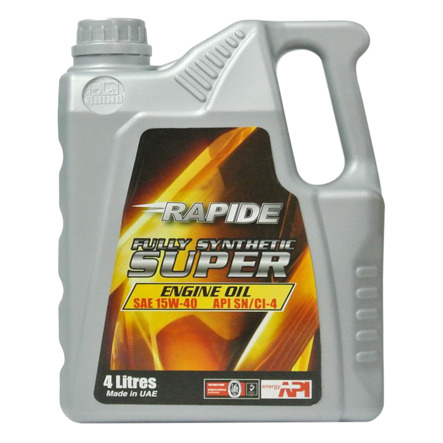 Nhớt Ô Tô Rapide Synthetic Super SAE 15W40 CI-4 (4L)