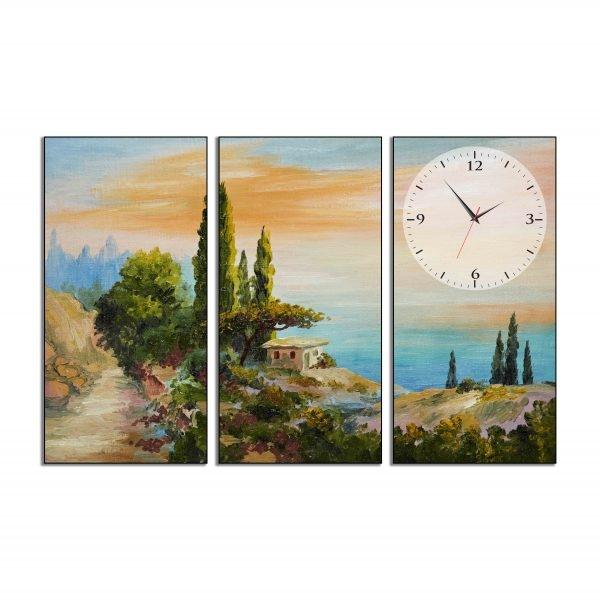 Tranh đồng hồ in Canvas Âm thầm bên biển - 3 mảnh - 4765172 , 4766442818189 , 62_10361100 , 1705000 , Tranh-dong-ho-in-Canvas-Am-tham-ben-bien-3-manh-62_10361100 , tiki.vn , Tranh đồng hồ in Canvas Âm thầm bên biển - 3 mảnh