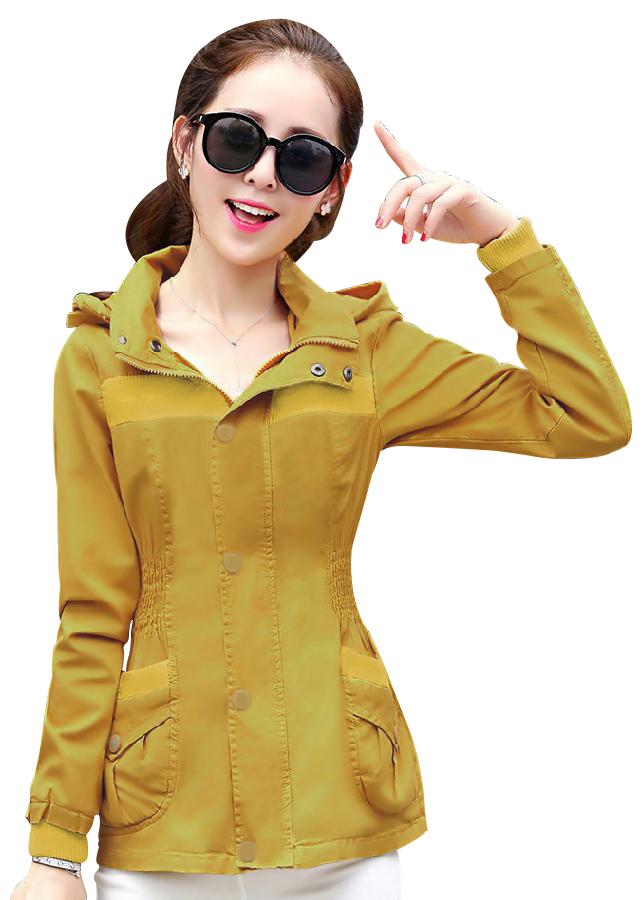 Áo khoác kaki nữ có nón AK30 - 2229391 , 7881962925395 , 62_14307437 , 360000 , Ao-khoac-kaki-nu-co-non-AK30-62_14307437 , tiki.vn , Áo khoác kaki nữ có nón AK30