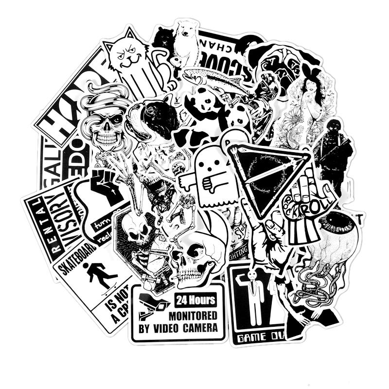 Bộ 100 Sticker Trắng Đen Dán Xe Máy - Mũ Bảo Hiểm - 1060501 , 1537389077655 , 62_3567173 , 145000 , Bo-100-Sticker-Trang-Den-Dan-Xe-May-Mu-Bao-Hiem-62_3567173 , tiki.vn , Bộ 100 Sticker Trắng Đen Dán Xe Máy - Mũ Bảo Hiểm