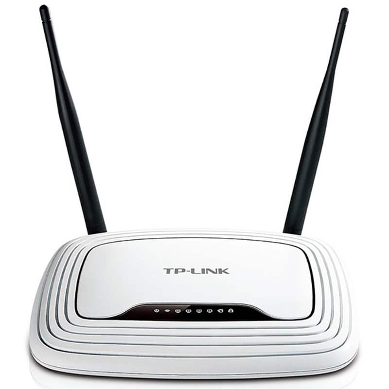 Bộ phát sóng không dây Wifi TP-Link TL-WR841N chuẩn N 300Mbps (2 ăng ten 5dBi) - Hàng Chính Hãng