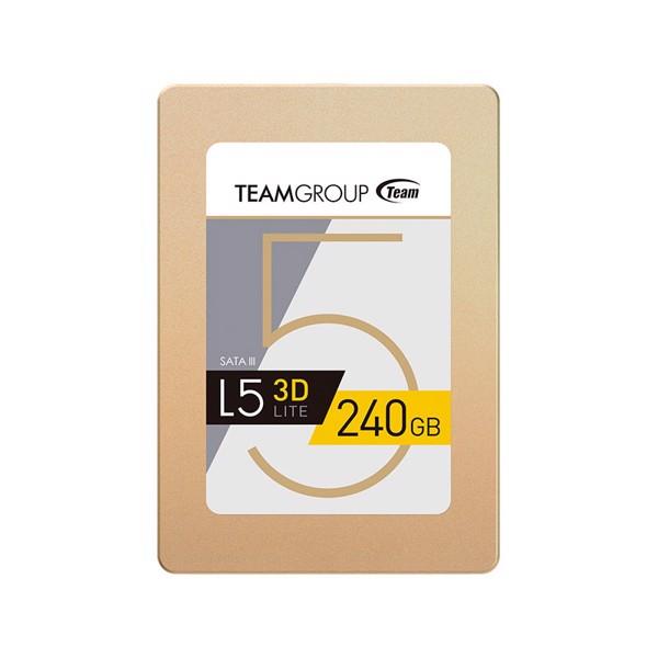 """Ổ cứng SSD Team L5 3D - Công nghệ 3D NAND 2.5"""" 240GB"""
