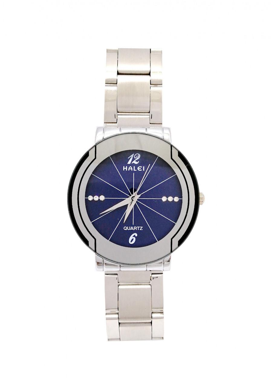 Đồng hồ Nam Halei - HL4570 Dây trắng