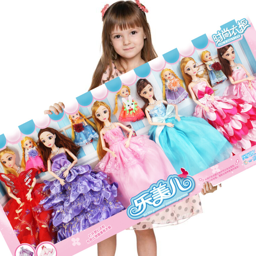Aozhi Jia AoZhiJia Dream 3D True Eye Princess Barbie Set Variety Pet House Gift Box Child Girl Toy House Change Dress 125-13 - 1454169 , 1629934691567 , 62_9283057 , 803000 , Aozhi-Jia-AoZhiJia-Dream-3D-True-Eye-Princess-Barbie-Set-Variety-Pet-House-Gift-Box-Child-Girl-Toy-House-Change-Dress-125-13-62_9283057 , tiki.vn , Aozhi Jia AoZhiJia Dream 3D True Eye Princess Barbie Set Va