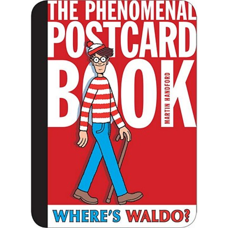 Wheres Waldo? the Phenomenal Postcard Book