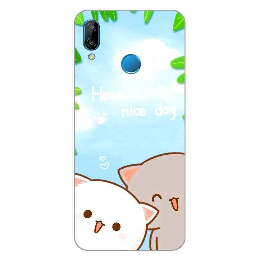Ốp lưng dẻo cho Huawei Nova 3e_Nice Day