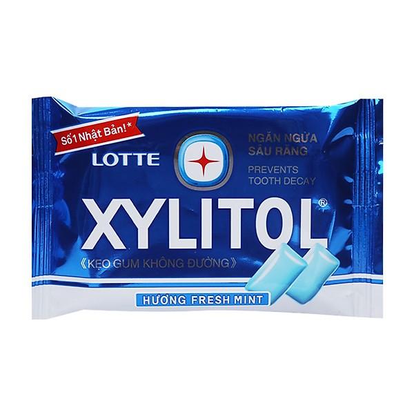 Hộp 15 Kẹo Gum Không Đường Lotte Xylitol Hương Fresh Mint (11.6g) - 7499401 , 1517832927768 , 62_16070412 , 90000 , Hop-15-Keo-Gum-Khong-Duong-Lotte-Xylitol-Huong-Fresh-Mint-11.6g-62_16070412 , tiki.vn , Hộp 15 Kẹo Gum Không Đường Lotte Xylitol Hương Fresh Mint (11.6g)