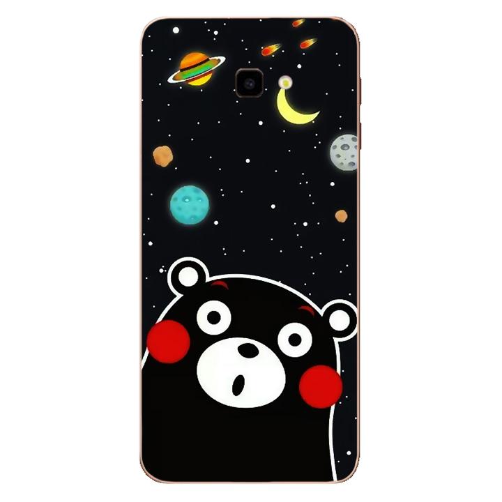 Ốp lưng dẻo Nettacase cho điện thoại Samsung Galaxy J4 PLus_0345 BEAR03 - Hàng Chính Hãng