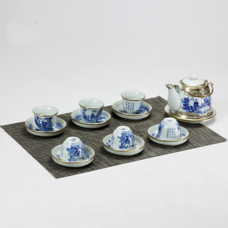 Bộ ấm chén men lam bọc đồng giả vuốt gốm sứ Bảo Khánh Bát Tràng - bình trà, bộ bình uống trà cao cấp - 7420903 , 6054605371779 , 62_15518755 , 1200000 , Bo-am-chen-men-lam-boc-dong-gia-vuot-gom-su-Bao-Khanh-Bat-Trang-binh-tra-bo-binh-uong-tra-cao-cap-62_15518755 , tiki.vn , Bộ ấm chén men lam bọc đồng giả vuốt gốm sứ Bảo Khánh Bát Tràng - bình trà, bộ