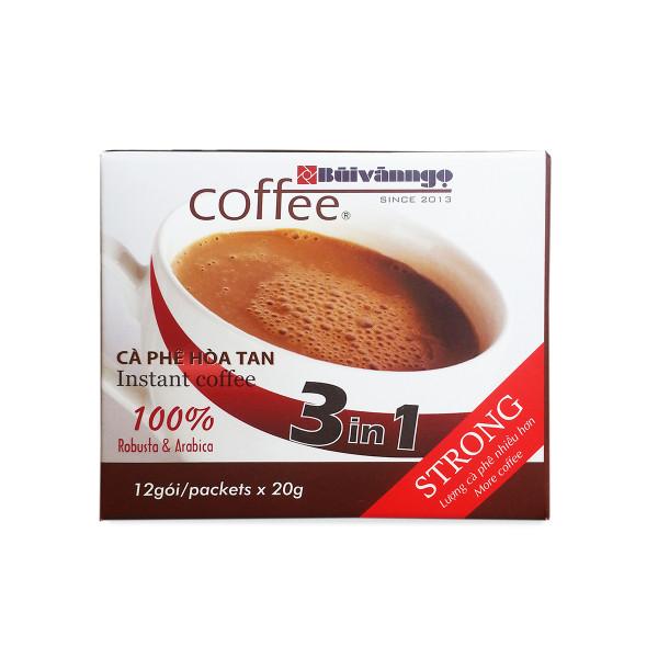 Cà phê hòa tan 3in1 Strong 20g - Bùi Văn Ngọ Coffee