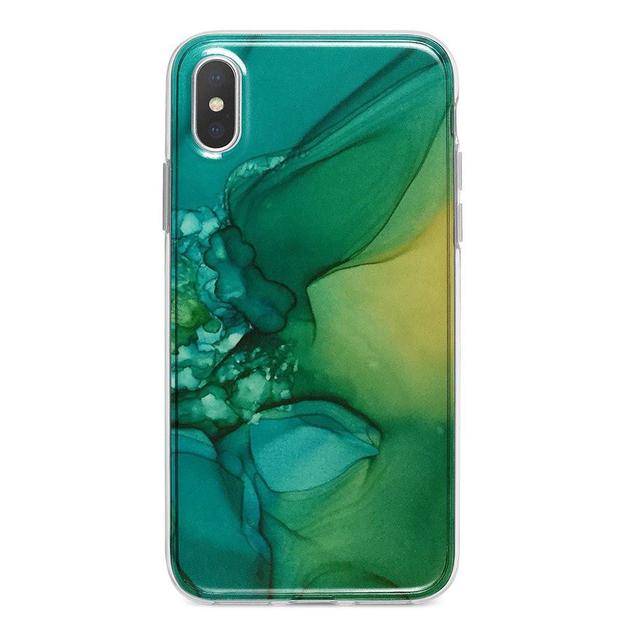 Ốp Lưng Điện Thoại Vân Đá Cho iPhone X A-001-010-C-IPX