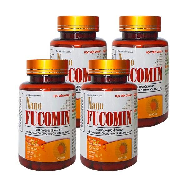 Combo Thực phẩm chức năng bảo vệ sức khỏe Nano Fucomin -  Dùng cho những người bị u bướu đang và sau quá trình...