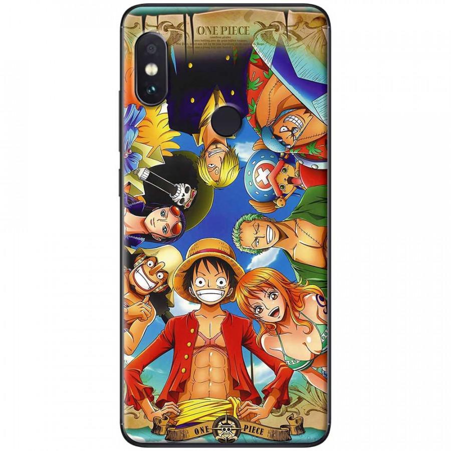 Ốp lưng dành cho Xiaomi Redmi Note 6 mẫu nhóm hải tặc