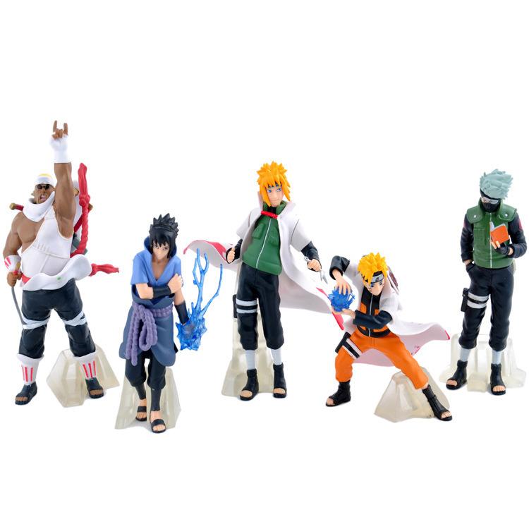 Combo mô hình team Naruto 5 nhân vật cực ngầu 12cm